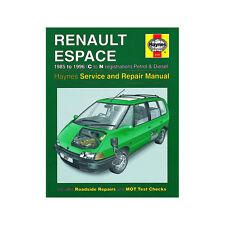Renault Espace 2.0 2.2 Petrol 2.1 Diesel 1985-96 (C to N Reg) Haynes Manual