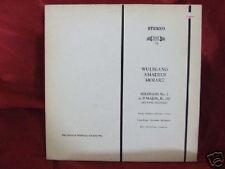 Wolfgang Amadeus Mozart Serenade No 7 in D Major LP