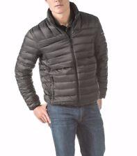 polyester winter coats jackets lightweight puffer for men ebay