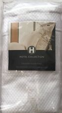 HOTEL COLLECTION GRAND PIQUE STANDARD SHAM 100% EGYPTIAN COTTON NIOP MSRP $60