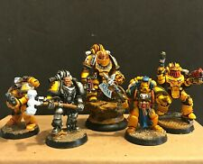 Warhammer 40k Centurion's Kill Team Imperial Fists Space Marines 28mm Painted