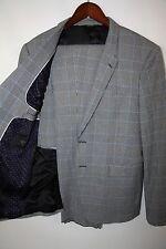 Paul Smith London The Kensington Cotton Blend Suit Size 40 R