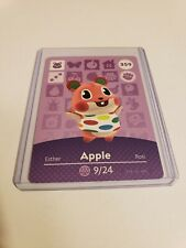 Apple # 359 Animal Crossing Amiibo Card Horizons Series 4 MINT NEVER SCANNED!