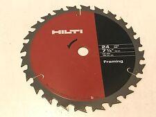 Hilti W Csc 7 14 Diameter 58 Arbor Framing Blade Ultra Thin Kerf