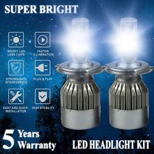 1800W 270000LM H4 HB2 9003 6500K White LED Headlight Hi/Lo Power Bulbs Kit HID