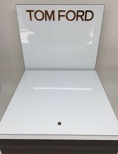 New Tom Ford Display Piece Tom Ford LOGO PLAQUE Tom Ford Logo Display Stand