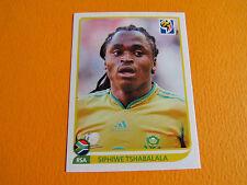 42 TSHABALALA SOUTH AFRICA  PANINI FOOTBALL FIFA WORLD CUP 2010 COUPE MONDE