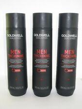 Set of 3 Goldwell Dualsenses MEN Thickening Shampoo 10.1 fl oz. EA *BRAND NEW*