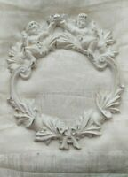 VINTAGE FRENCH FARMHOUSE CHIC CAST IRON DOOR WREATH