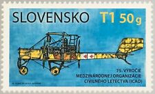 Slowakei Slovakia 2019 Nr. 868 Jahrestag der intern, Zivilluftfahrt-Organisation