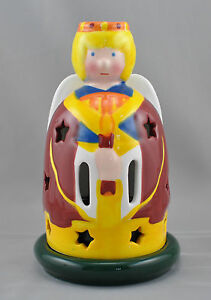 Villeroy Boch Gallo Design Angel Double Candle Holder Figural