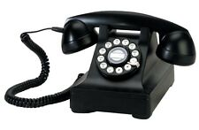 RETRO TABLE TOP CLASSIC TELEPHONE - BLACK- COLLECTORS ITEM. LIMITED SUPPLY