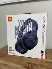 New listing Jbl Tune 750Btnc Wireless Over-Ear Active Noise Cancelling Headphones Navy Blue