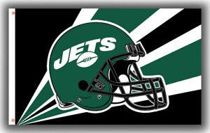 New York Jets Football Team Helmet Memorable Flag 90x150cm 3x5ft Best banner