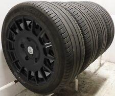 "18"" Black M Sport Alloy Wheels Used 2455018 XL Tyres Ford Transit MK7 MK8 Van"