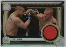 2018 Topps UFC Museum Meaningful Moments Relics Gold Relic /10 TJ Dillashaw
