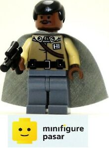 sw251 Lego Star Wars 7754 - Lando Calrissian General Outfit Minifigure - New