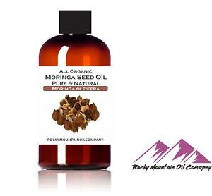 PURE PREMIUM ORGANIC VIRGIN MORINGA SEED OIL UNREFINED COLD PRESSED OLEIFERA