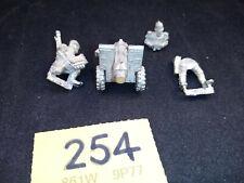 Warhammer 40K Praetorian Guard Heavy Bolter and crew Unpainted Rare OOP