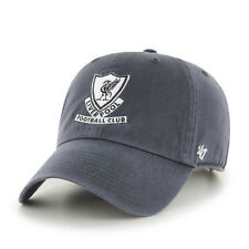 47 BRAND NEW Mens Grey EPL Liverpool FC Clean Up Cap BNWT