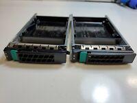 2.5 sas/sata hard drive  tray caddy H17747-001 (LOT OF 2)