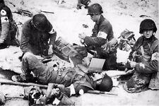 WW2 - Poste de soins du service de santé de la 4° Div. Inf. à Utah Beach 6.6.44
