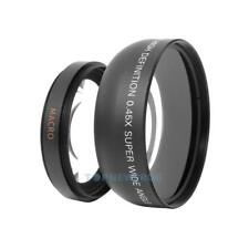 55mm 0.45x Wide Angle + Macro Conversion Lens For DSLR DC Camera TN2F