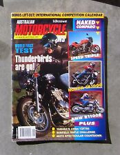 MOTORCYCLE NEWS Feb 1995 - AMCN TRIUMPH TRIPLE YZF 750 CB 1000 BMW R1100 XJ 600