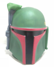 RARE Star Wars Boba Fett Helmet Plastic Bank or Storage Container