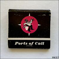 Ports of Call International Restaurant Complex Toronto Canada Matchbook (MK97)