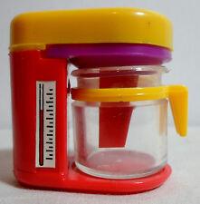 STATIONERY VTG 80's COFEE MACHINE PLASTIC PENCIL SHARPENER UNUSED C