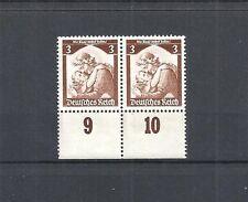 German Reich, 1935 Michel #: 565 **, Waag. Pair **, catalogue value £ 15,00