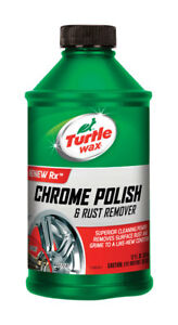 Turtle Wax Chrome Polish Liquid Automobile Polish 12oz Cleaning & Shining T280RA