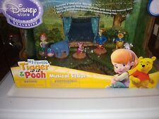 Disney Tigger & Winnie the Pooh My Friends With Musical Stage Nib