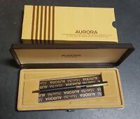 Aurora Marco Polo - MPS 31 - Penna a Sfera BLU da Collezione - Made in ITALY