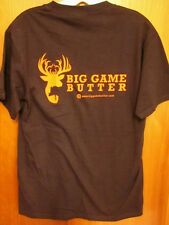 BIG GAME BUTTER small T shirt Ultimate Deer Attractant hunting tee