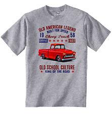 VINTAGE AMERICAN CAR CHEVROLET TRUCK - NEW COTTON T-SHIRT