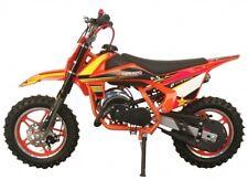 50cc Orange KT-49 Mini Moto Dirt Pit Bike Crosser Scrambler essence garantie 49cc