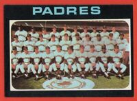 1971 Topps #482 San Diego Padres Team NEAR MINT+ Cito Gaston Nate Colbert