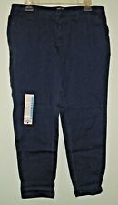 WOMENS WOORICH SUNDAY CHINO PANT BLUE SIZE 10 NEW W/TAGS NWT