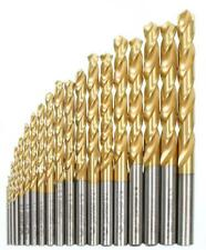 Set di 25 punte elicoidali 1-13 HSS RETTIFICATE TIN art. 115265 1-13 DIN 338