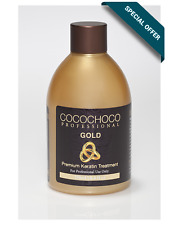 COCOCHOCO professional - Gold 250ml with 24k liquid gold - New improved formula