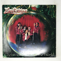 New Edition Christmas All Over The World Fist Pressing 1985 Soul Funk EX / VG+