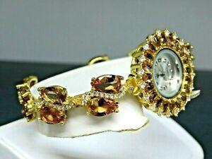 Turkish Handmade Jewelry 925 Sterling Silver Alexandrite Stone Women Watches
