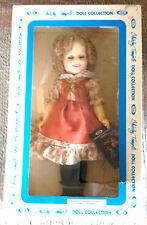 """VINTAGE SHIRLEY TEMPLE 12"""" DOLL SUZANNAH OF THE MOUNTIES IDEAL 1982 NEW IN BOX"""