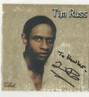 TIM RUSS (STAR TREK) HAND SIGNED CD  - DEDICATED    AFTAL - COA