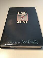 END ZONE Don Delillo 1st/1st   HB/DJ   High Grade Author's 2nd Book