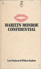 Marilyn Monroe Confidential by Lena Pepitone and William Stadiem (1980, Paperbac