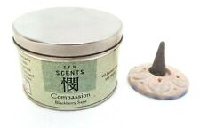 Incense Cones for 'Compassion', Blackberry Sage Scent 40 Cones & Holder ON SALE