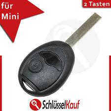 Mini Autoschlüssel 2 Tasten Fernbedienung Gehäuse One Clubman Cabrio Cooper Neu